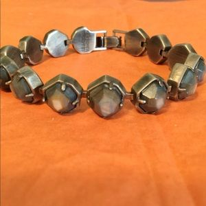 NWOT KENDRA SCOTT Brown Stone Bracelet
